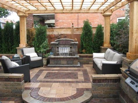 enhancing backyard patio design ideas  small spaces