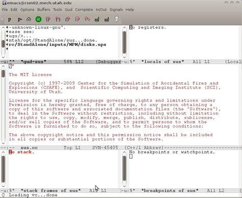 gdb tutorial c tutorial emacs and gdb university of utah csm group