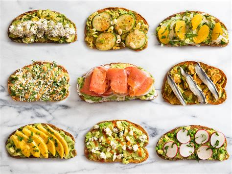9 no cook twists on avocado toast serious eats
