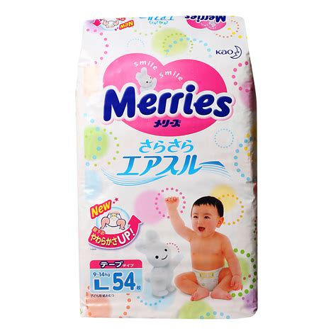 Merries Skin L 44 S 2 Pcs 1 merries diapers l 3 from redmart