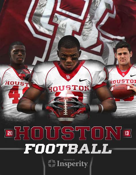 2013 Houston Football Media Guide By David Bassity Issuu High School Football Media Guide Template