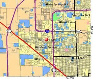 Miami Lakes Map by 33016 Zip Code Miami Lakes Florida Profile Homes