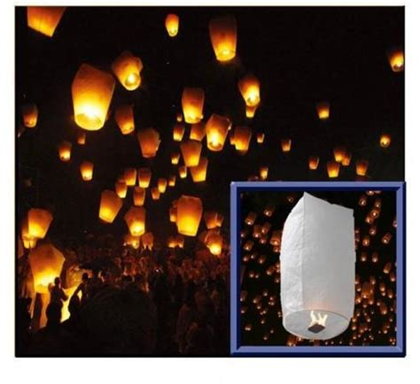 lanterna cinese volante addobbi per feste lanterne volanti sky lantern cylinder