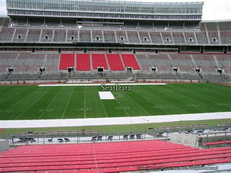 section 23a section 22a seat view at ohio stadium rateyourseats com