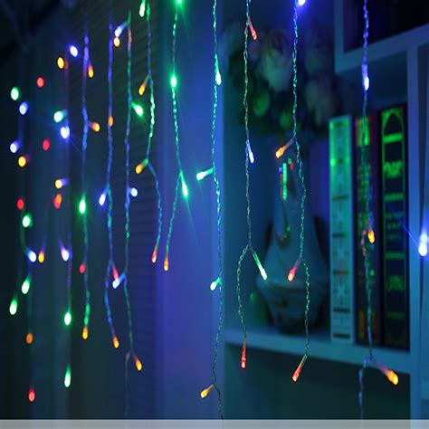 christmas lights outdoor decoration 5m droop 0 4 0 6m led