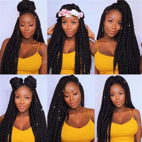 ways to style twisting hair 70 crochet braids hairstyles and pictures part 2