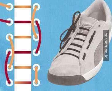 tutorial tali sepatu 4 lubang 44 cara mengikat model tali sepatu yang keren unik dan