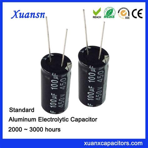 of aluminum electrolytic capacitors 100uf 450v aluminum electrolytic capacitors capacitor 450v