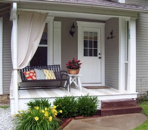 front porch decor 39 cool small front porch design ideas digsdigs