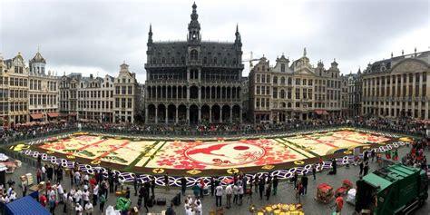 Tapis De Fleurs Grand Place by Bruxelles Le Tapis De Fleurs De Retour Sur La Grand Place