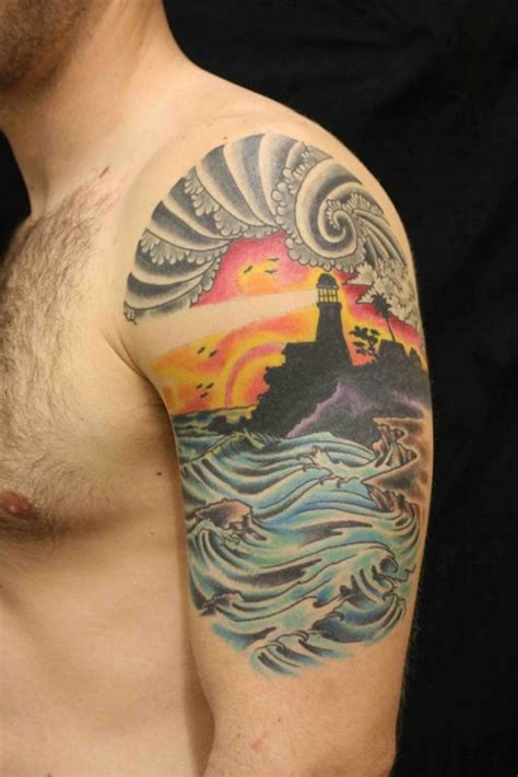 35 light house tattoos and meanings
