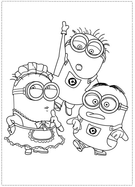 despicable me printable coloring pages az coloring pages