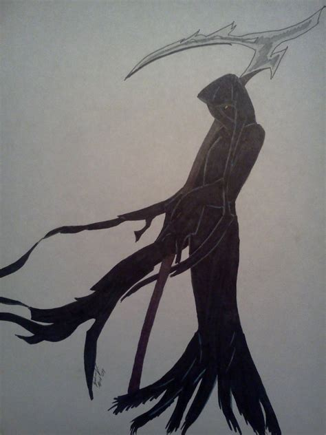 female grim reaper by zydratecoyote on deviantart