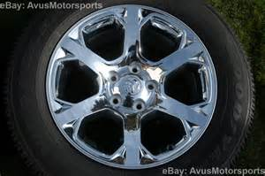 20 Dodge Ram Rims 2014 Dodge Ram Oem Factory 20 Quot Chrome Clad Wheels Tires