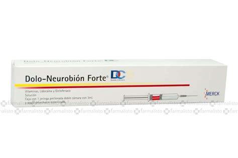 noticias sobre para que sirve la doloneurobion forte dolo neurobi 243 n forte precio jeringa prellenada 3ml en