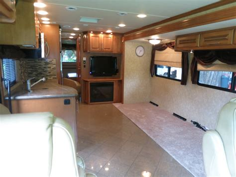 Motor Home Interior Production Motorhome Rental Production Orlando