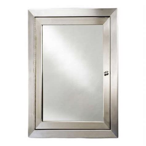 stainless steel medicine cabinet afina metro stainless steel medicine cabinet met bath