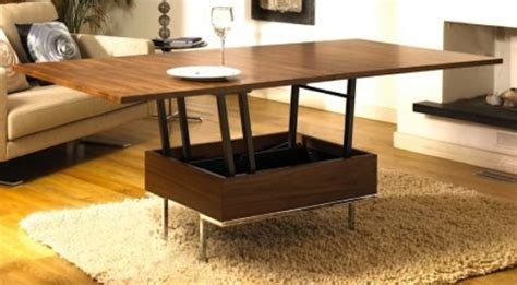 coffee tables  small spaces design images  pictures