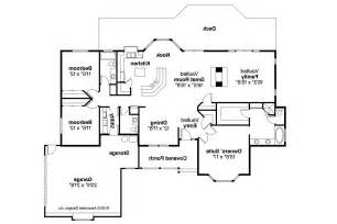 Ranch Floor Plan by Ranch House Plans Grayling 10 207 Associated Designs