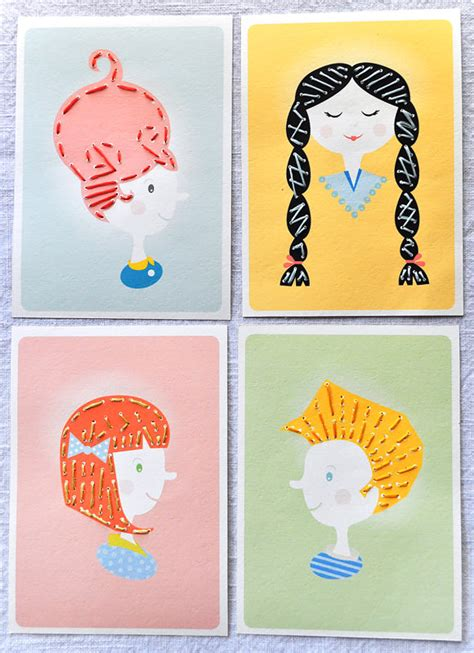 how to make printable sewing cards for diy crafts
