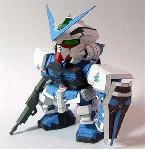 Gundam Papercraft Pdf - diy paperbots papercraft gundam