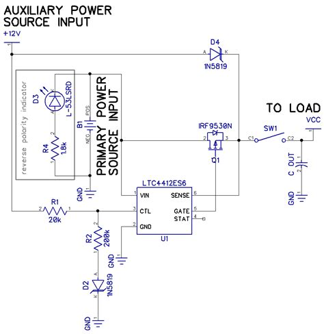 diode to stop polarity any ideas for dcpower supplly oring and power source polarity protection page 1