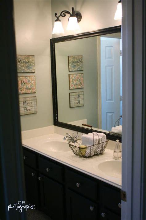 diy bathroom mirror pin by pam brashear on paint color ideas pinterest
