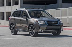 Subaru Forester Touring 2017 Subaru Forester 2 0xt Touring Test Review