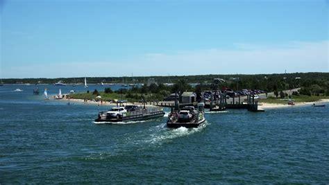Chappaquiddick Ferry Chappaquiddick Island Ferry Marthas Vineyard Ma Stock Footage 11113757