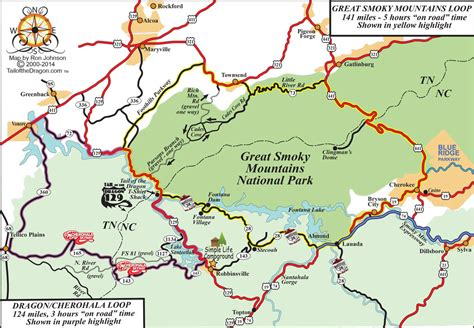 smoky mountains map simple cground location touring maps simple cground cabins