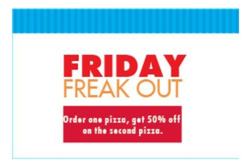 dominos freaky friday coupon codes