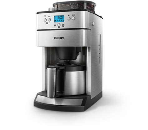 grind brew cafetiere hd philips