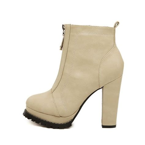 chunky high heel shoes 28 images new womens ankle