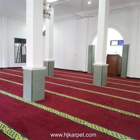 Karpet Buat Masjid pemasangan karpet masjid asrama polres batang hjkarpet