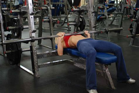 medium grip bench press barbell bench press medium grip exercise guide and video