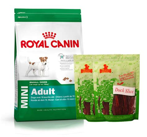 Dogfood Royal Canin Mini Adlt 4kg royal canin mini 4 kg with duck slices dogspot