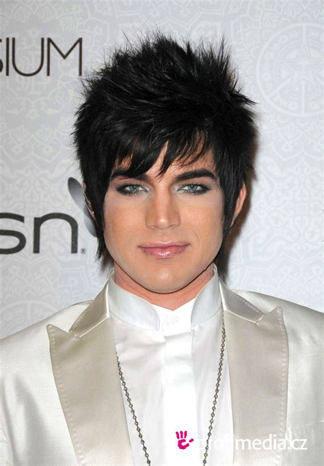 Adam Lambert Hairstyle by Adam Lambert Hairstyle Hairstyles Hair Styles