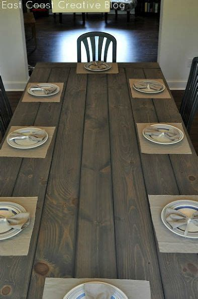 your own rustic table your own farmhouse table the easy way rustic