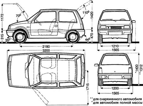 car dimensions in feet morgan archives the truth about cars
