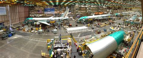 Boeing Everett Building Maps Car by Long Shunned Robots Finally Infiltrate Boeing S Assembly