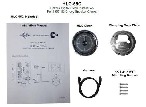 how to install 56 chevy dakota digital wiring diagram 53