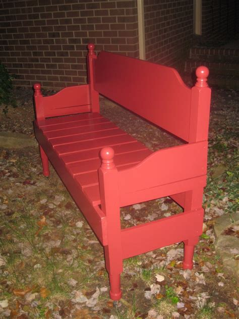 Bench From Headboard And Footboard by Diy With Headboard Bench