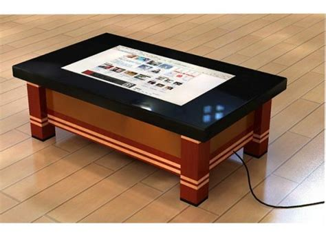 Wifi 3g 55 Inch Led Touch Screen Coffee Table Ir Touch Touch Screen Coffee Table For Sale