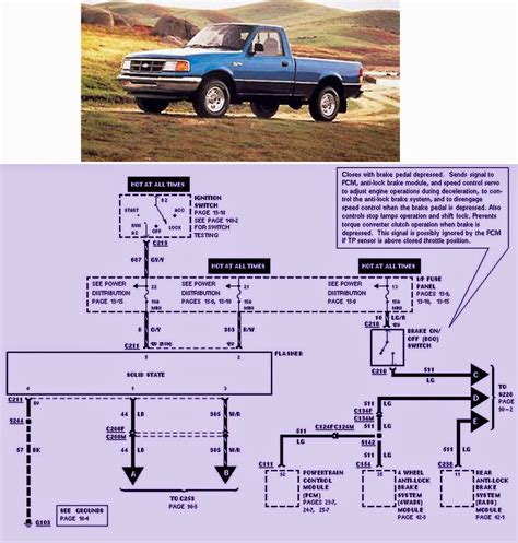 ford ranger lamps wiring diagram auto wiring diagrams