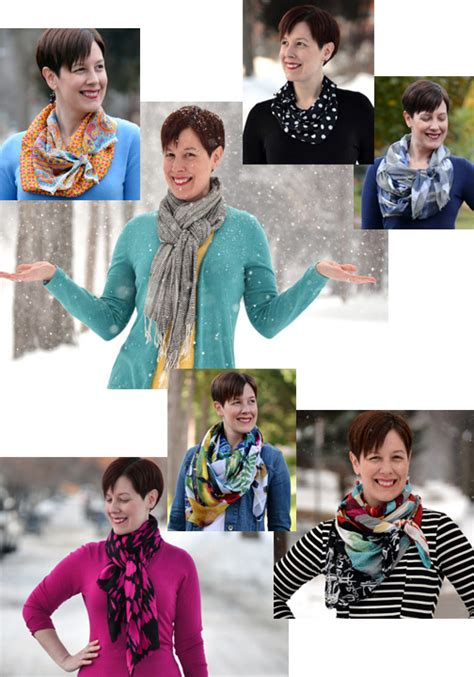 determining your ideal scarf style already pretty