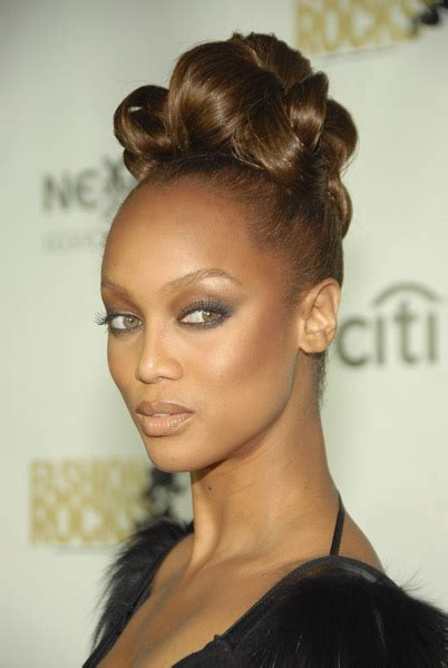 big forehead actresses african wedding hairstyle ideas tyra banks