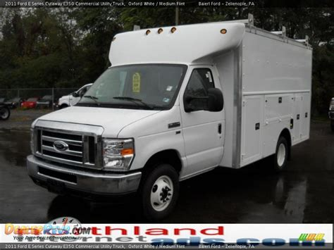 2011 used ford econoline commercial cutaway e350 5 4l v8 2011 ford e series cutaway