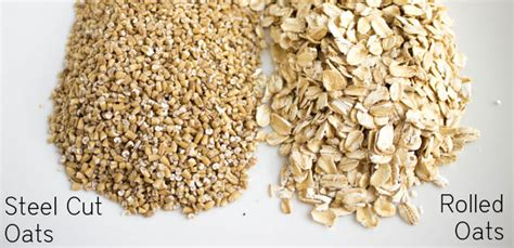The Difference Between Steel Cut Old Fashioned Quick - make ahead steel cut oats for breakfast all week blog