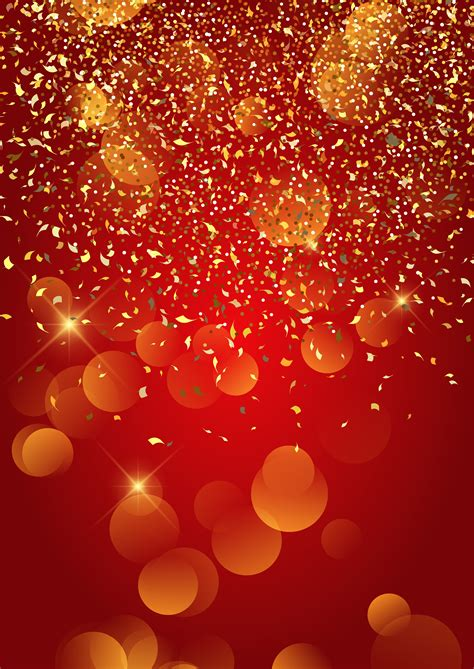festive gold confetti background   vectors clipart graphics vector art