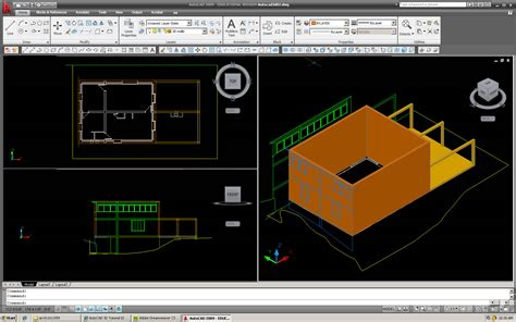 tutorial autocad 3d autocad 3d tutorial 02
